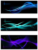Smooth Waves Design Template Royalty Free Stock Photos