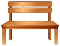 A smooth wooden furniture Stock Photography