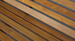 Smooth wooden planks Stock Photo