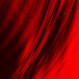 Smoothed red lines Royalty Free Stock Photography