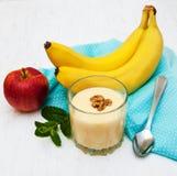 Smoothie банана Стоковые Фотографии RF
