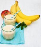 Smoothie банана Стоковое Фото