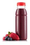 Smoothie в пластичной бутылке Стоковая Фотография RF