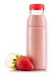 Smoothie в пластичной бутылке Стоковое Фото