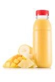 Smoothie в пластичной бутылке Стоковое Изображение