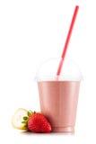 Smoothie в пластичной чашке Стоковое Фото