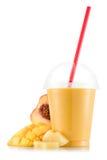 Smoothie в пластичной чашке Стоковые Изображения