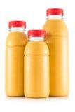 Smoothie в размере 3 бутылки Стоковое Изображение RF