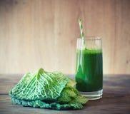 Smoothie листовой капусты Стоковые Изображения