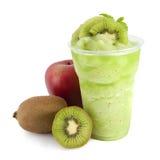 smoothie кивиа яблока Стоковое Изображение
