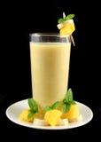 smoothie мангоа банана Стоковое Фото