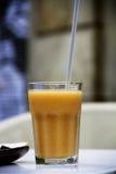 Smoothie манго Стоковое Изображение