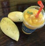 Smoothie манго Стоковое фото RF