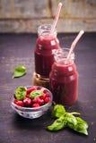 Smoothie от berrys Стоковые Фотографии RF