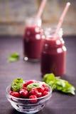 Smoothie от berrys Стоковая Фотография RF