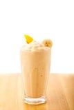 Smoothie персика банана Стоковое фото RF