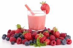 Smoothie ягоды стоковое изображение