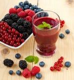 Smoothie ягоды Стоковая Фотография RF