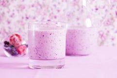 Smoothie ягод Стоковое Фото