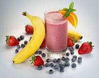 Smoothie Stockfoto