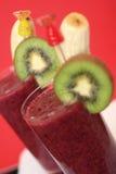 Smoothie al gusto di frutta Fotografia Stock