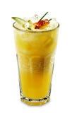 Smoothie - ananas con Apple Fotografie Stock Libere da Diritti