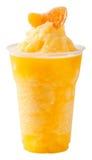 Smoothie anaranjado Foto de archivo libre de regalías