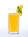 Smoothie anaranjado sano Imagen de archivo