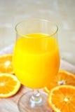Smoothie arancione Fotografia Stock Libera da Diritti