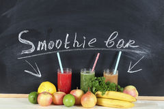 Smoothie bar Stock Images