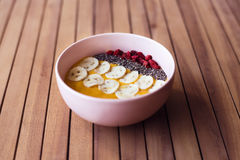 Smoothie Bowl Royalty Free Stock Photography