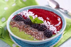 Smoothie bowl Stock Image