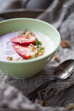 Smoothie bowl Royalty Free Stock Image