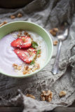 Smoothie bowl Royalty Free Stock Images