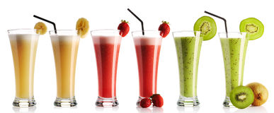 Smoothie collection royalty free stock image