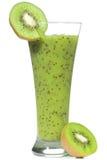 Smoothie con el kiwi Imagen de archivo