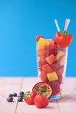 Smoothie da fruta do verão Fotografia de Stock