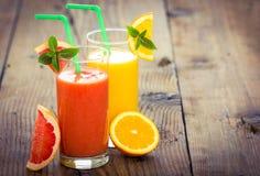 Smoothie da fruta fresca imagem de stock