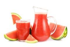 Smoothie da melancia Fotografia de Stock