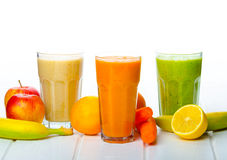 Smoothie day, time for healthy drink royalty free stock photography