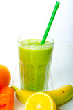 Smoothie day, time for healthy drink Stock Images