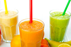 Smoothie day, time for healthy drink Royalty Free Stock Photos