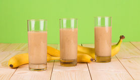 Smoothie de banane Images stock