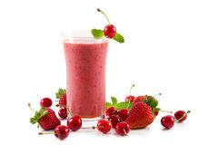 Smoothie de cerise Images libres de droits