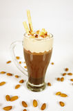 Smoothie de chocolat Photos stock