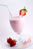 Smoothie de fraise photographie stock