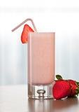 Smoothie de fraise Photos stock