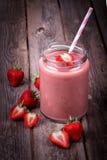 Smoothie de fraise Image libre de droits