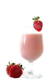 Smoothie de fraise Images libres de droits