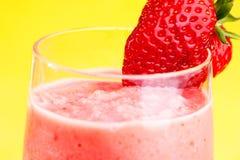 Smoothie de fraise image stock